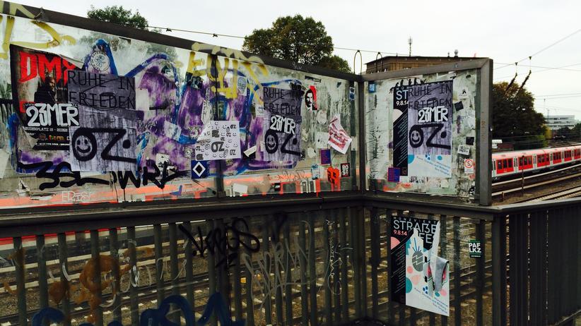 Oz: Die Altmannbrücke, direkt hinter dem Hauptbahnhof: Hier starb OZ.