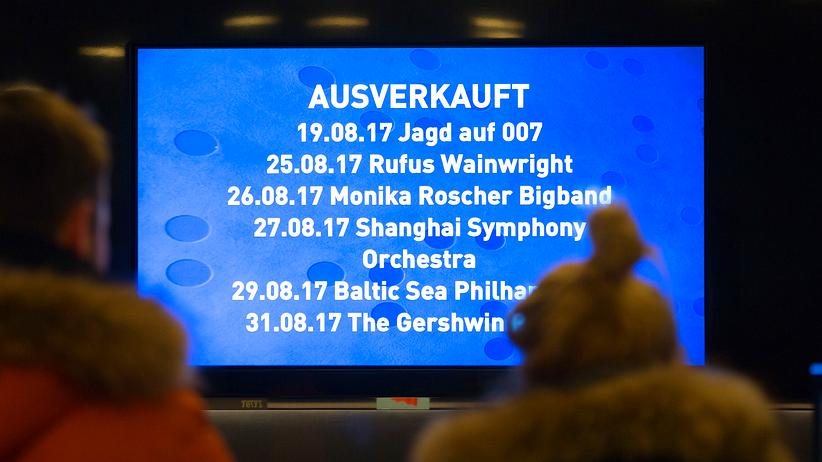 Elbphilharmonie: Tickets, please!