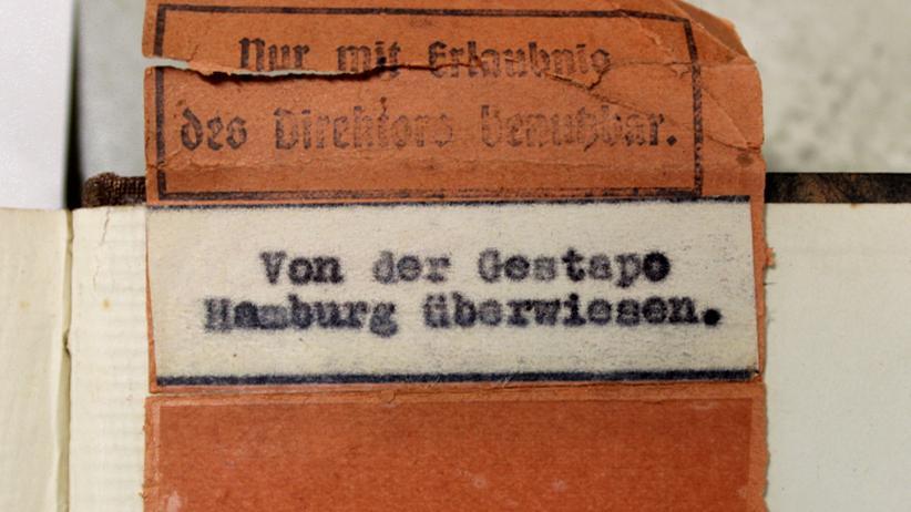 Nationalsozialismus: Geraubte Bücher