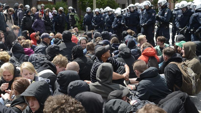 Polizei: Radikal ermitteln unter Hamburgs Linken