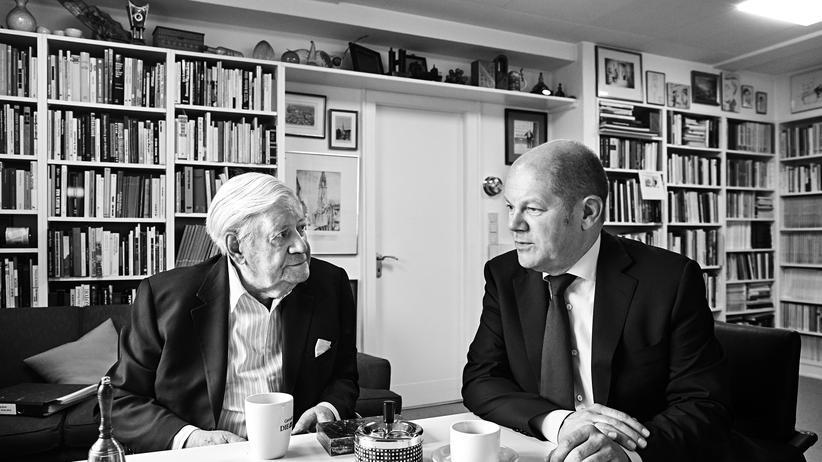 """Helmut Schmidt: """"Wir müssen als Europäer sprechen"""""""