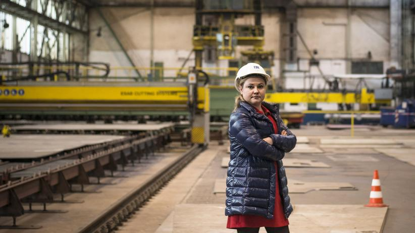 Sietas-Werft: Junge Chefin – altehrwürdiger Betrieb