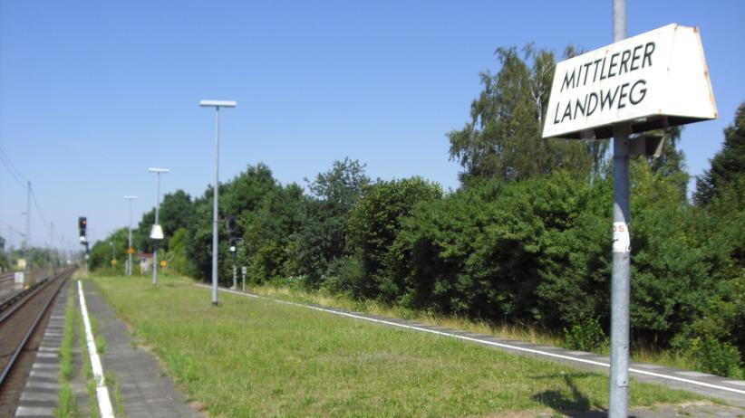 S-Bahn-Station Mittlerer Landweg