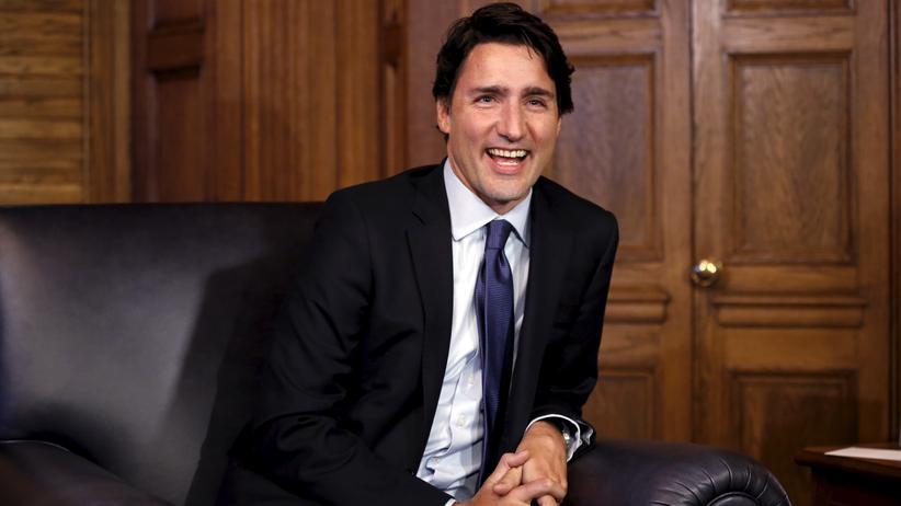 Justin Trudeau: Kanadas Premier Justin Trudeau