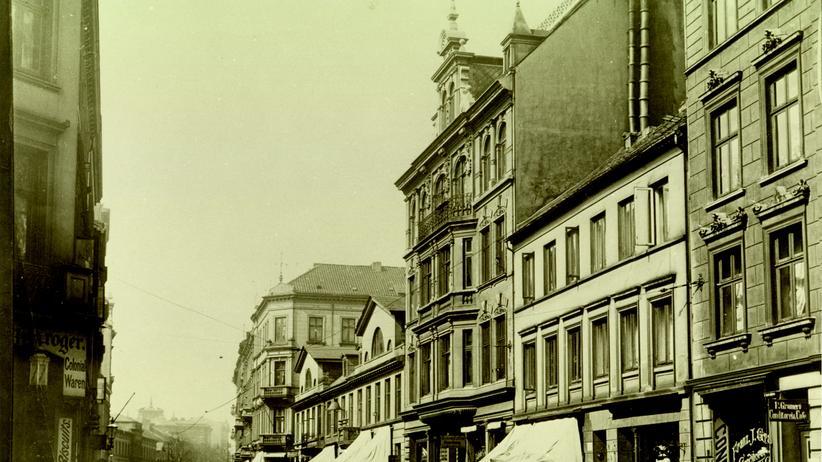 Große Bergstraße um 1910