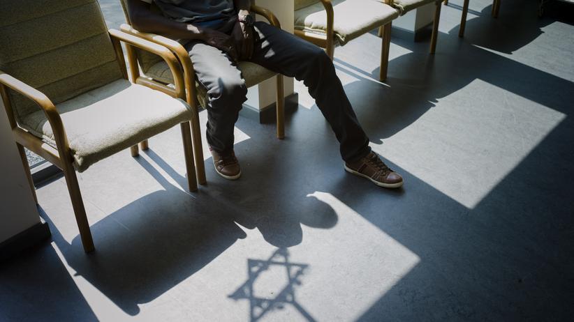 Asyl: Der Flüchtling Ashraf ist in der jüdischen Gemeinde in Pinneberg im Kirchenasyl.
