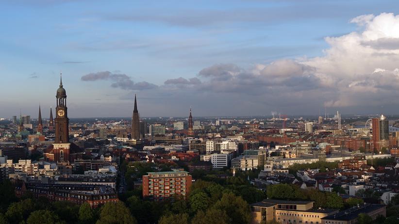 Hamburg Rundumsicht