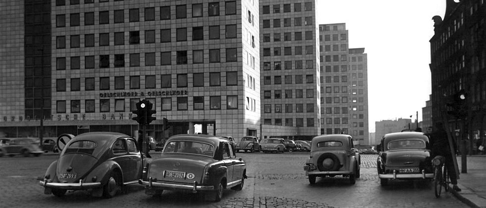 Der City-Hof in Hamburg, ca. 1959