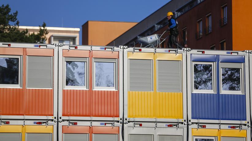 Containerdorf für Flüchtlinge
