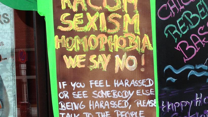 »Ein klares Statement gegen Diskriminierung gibt der Club Sommersalon ab. Keine Ausreden mehr für mieses Verhalten!«