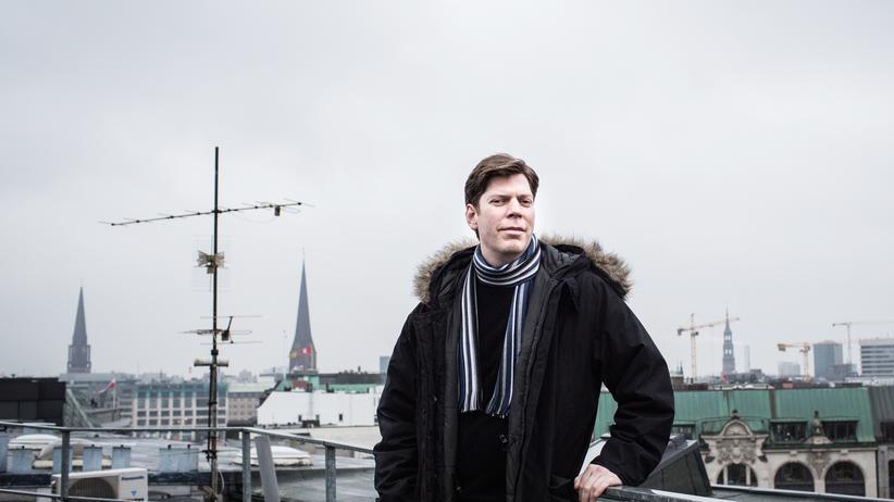 """Lars Hinrichs: """"Ich arbeite überhaupt nicht. Ich gehe meiner Leidenschaft nach"""", sagt Lars Hinrichs."""