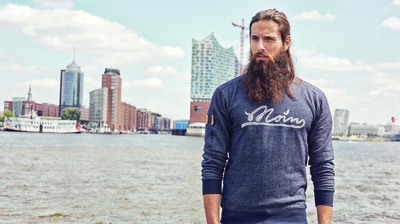 """Mode aus Hamburg: """"Lässiger Lokalpatriotismus"""", so umschreiben die Gründer des Labels derbe ihren Modestil."""