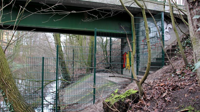 Goebenbrücke am Isebekkanal