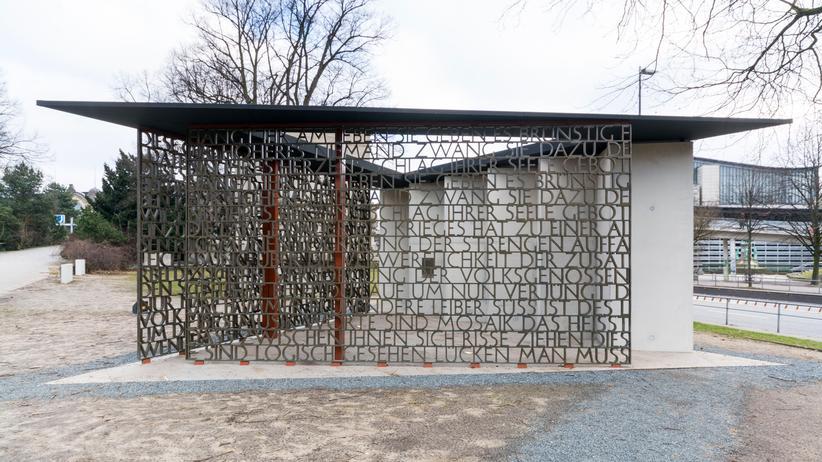 Das Deserteurdenkmal in Hamburg