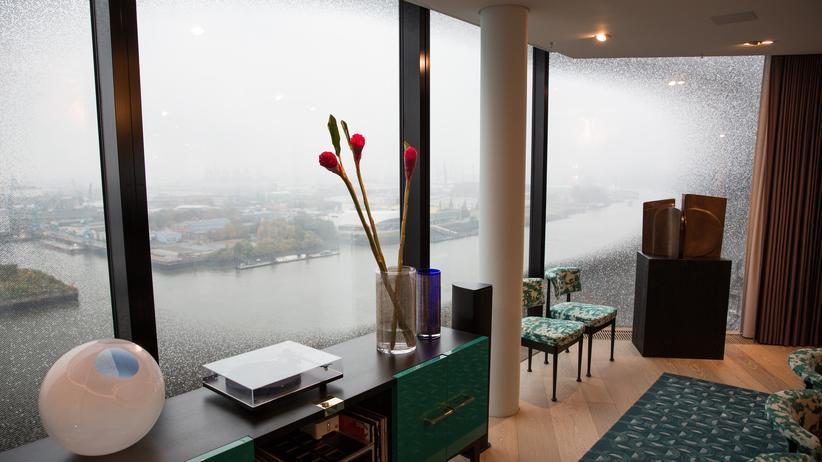 Wohnen in der Elbphilharmonie: Von oben herab