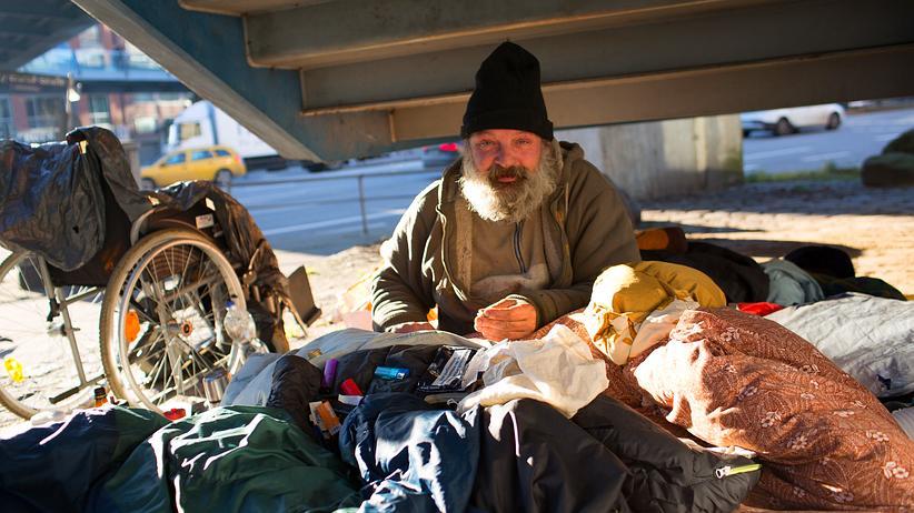 Obdachlose: Ein Leben ganz unten