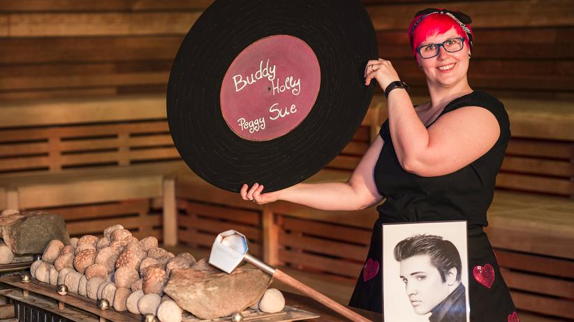 Sauna: Die Show ist heiß