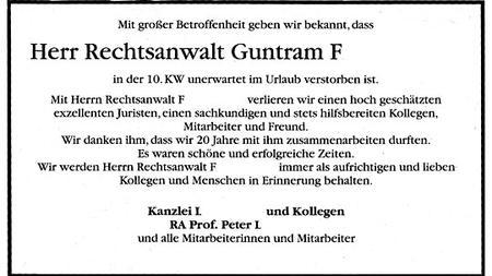 Trauer Der Letzte Abschied Vom Kollegen Zeit Online