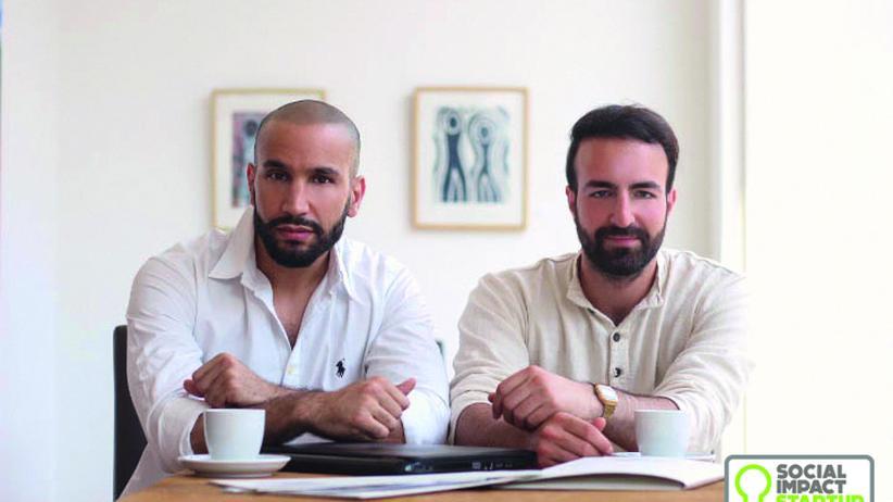 Die Gründer Baran Dindar und Noah Ammi