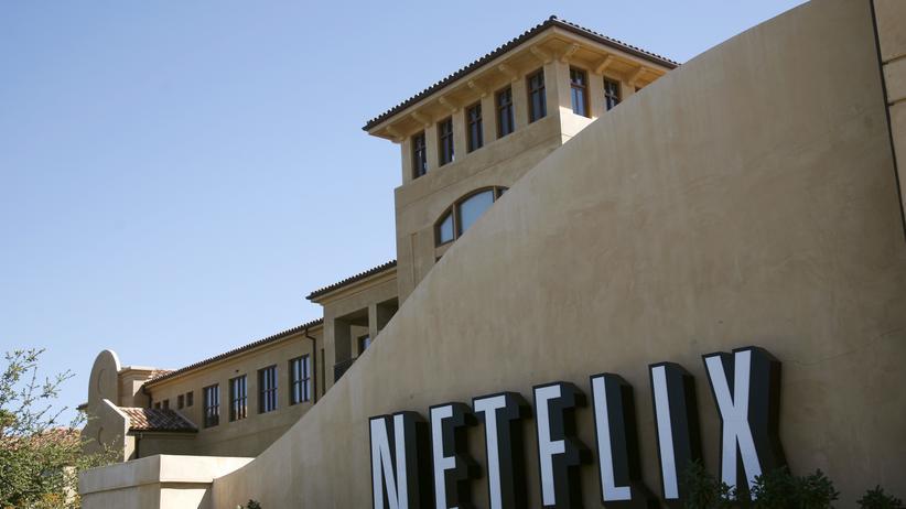 Da wollen US-Eltern arbeiten: Der Firmensitz des Streamingdienstes Netflix in Los Gatos, Kalifornien. Das Unternehmen bietet künftig allen Mitarbeitern eine voll bezahlte und voll flexible Elternzeit an.