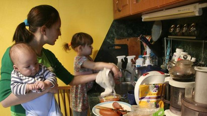 Familie und Beruf: Mütter wollen nicht zu Hause bleiben