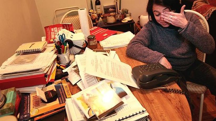Studie: Hohe Arbeitsbelastung kann depressiv machen