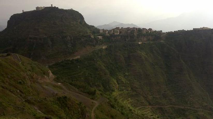 Hochlandschaft im Jemen