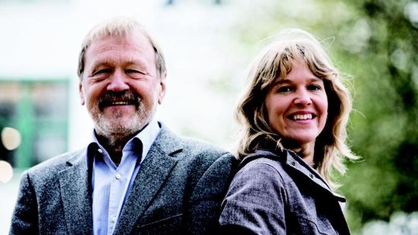Der Firmengründer von Vaude, Albrecht von Dewitz, und seine Tochter, Antje von Dewitz, die mit 36 die Firmenleitung übernahm