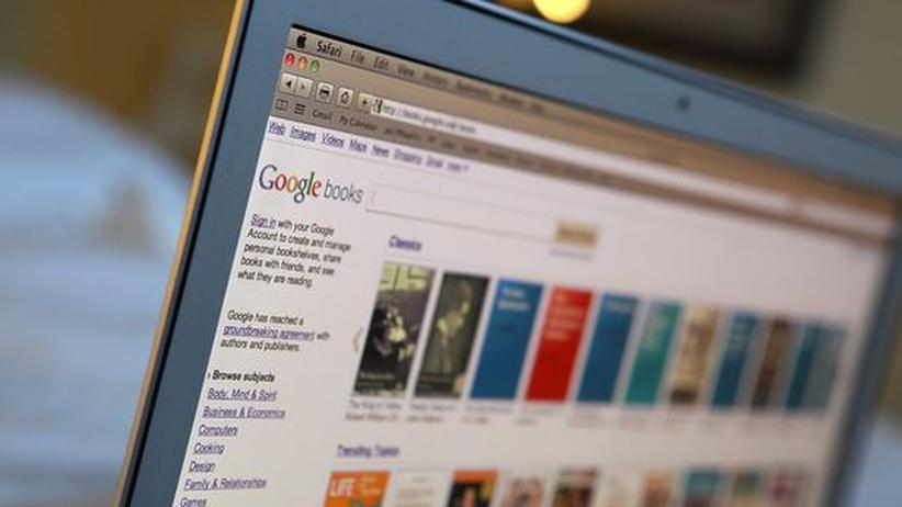 Ein Display mit Suchergebnissen bei Google