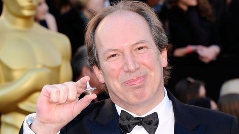 Der bekannte Filmmusikkomponist Hans Zimmer bei der Verleihung der Oscars