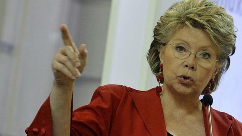 Eu-Kommissarin Viviane Reding, Archivbild aus dem Jahr 2011