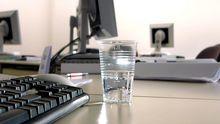 Computer in einem Büro