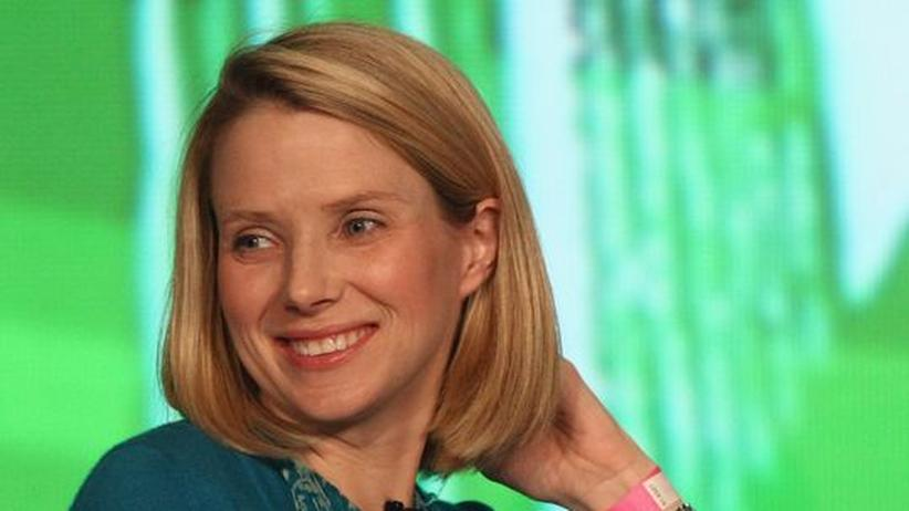 Die Managerin Marissa Mayer