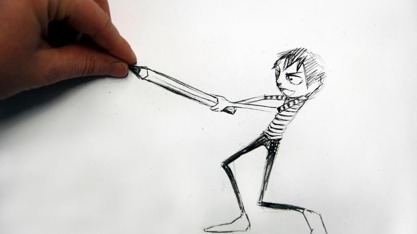 Beruf Comiczeichner: Ächz, schuft, schwitz, grübel