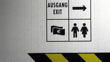 Ein Exit-Schild