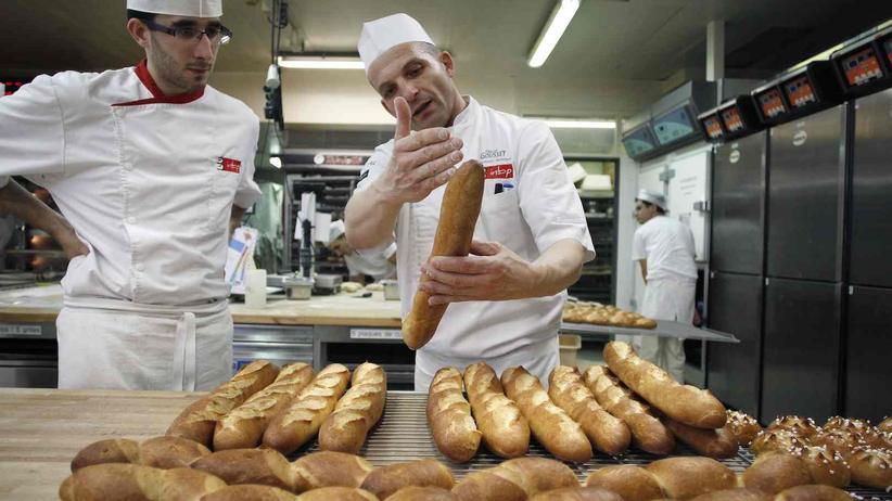 """Baguette-Bäcker: """"Langsam und nicht zu viel kneten"""""""