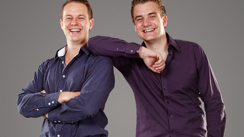 Die Unternehmer Robin Behlau und Mario Kohle