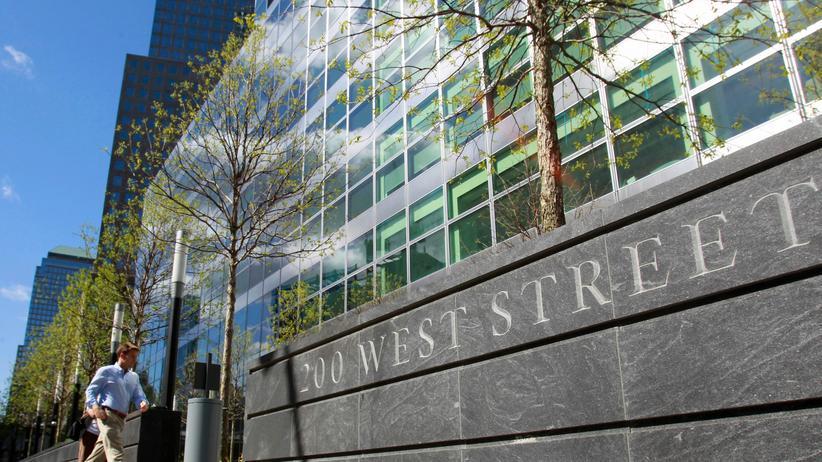 Überstunden: Die Goldman Sachs Zentrale in New York