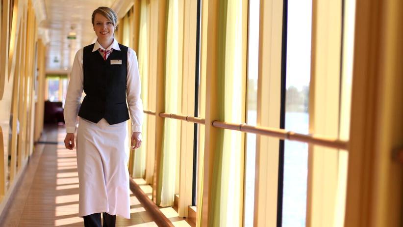 Die Hotelfachfrau Franziska Henning fand ihren Traumjob auf einer Karrieremesse.