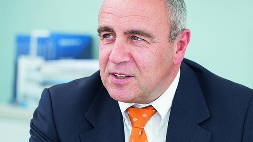Der Personalvorstand des Unternehmens Festo, Alfred Goll