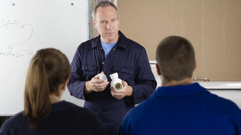 BAföG: Eine Meisterausbildung erhöht die Chancen auf dem Arbeitsmarkt.