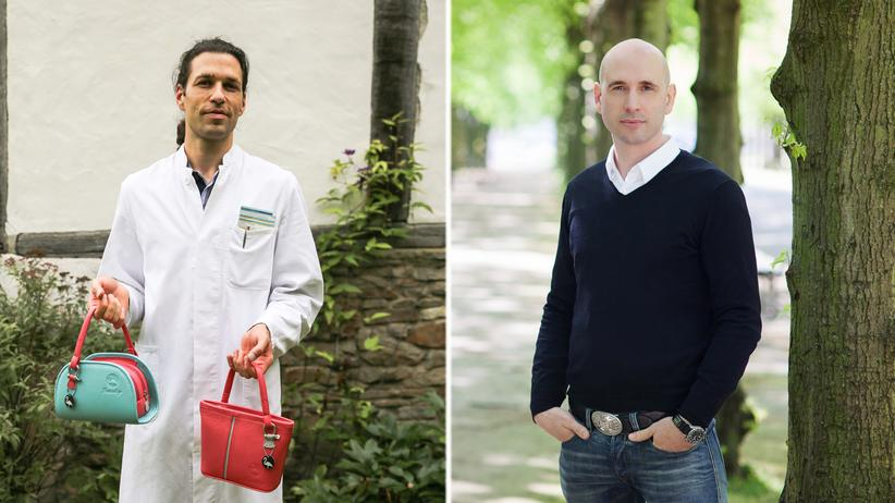 Jobwechsel: David Usadel drückt seine Kreativität im Design von Handtaschen aus, Holger Grethe ist Finanzprofi