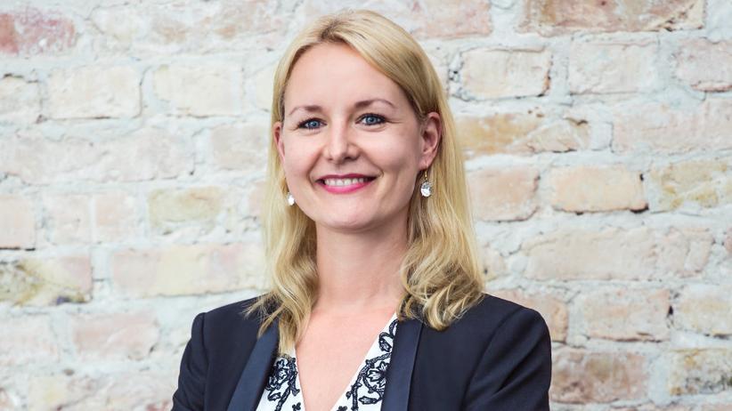 Sucht als Geschäftsführerin des Company Builders FinLeap ständig neue Frauen für FinTech-Unternehmen: Carolin Gabor