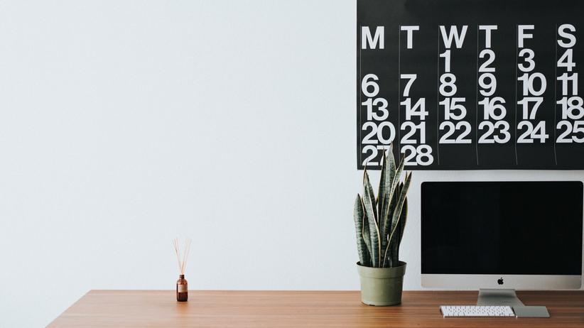 Urlaubsanspruch: Blick auf den Kalender: Wann steht der Wechsel an? Das ist eine entscheidende Frage.