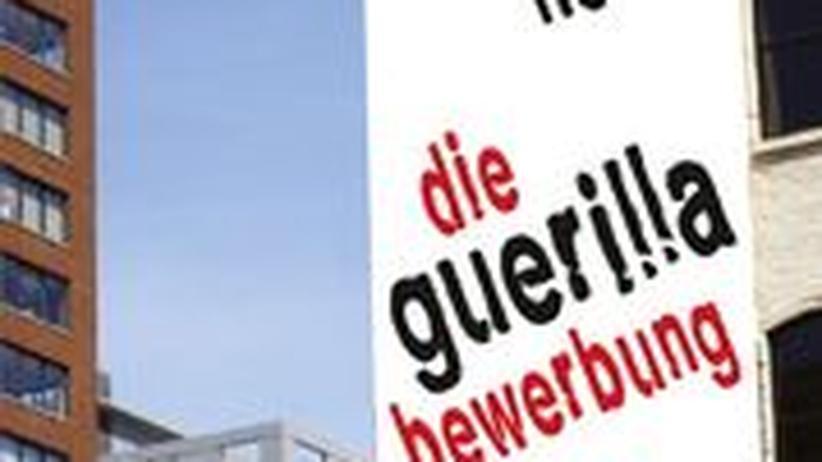 """Cover von """"Die Guerilla-Bewerbung"""""""