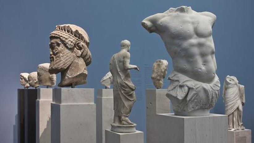 ZEIT-Museumsführer (22): Umsirrt von neuem Himmelblau: die Fragmente der Antikensammlung
