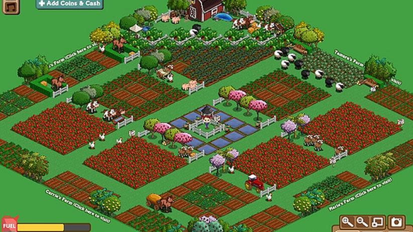 """Computerspiel """"Farmville"""": Frau sucht Bauer"""