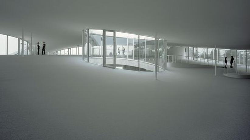 Architektur : So sieht sie aus, die hügelige Bildungslandschaft der Zukunft – entworfen vom japanischen Architektenbüro Sanaa