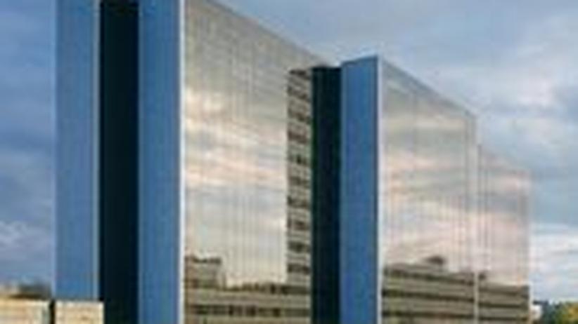 Die HEW-Zentrale in Hamburg