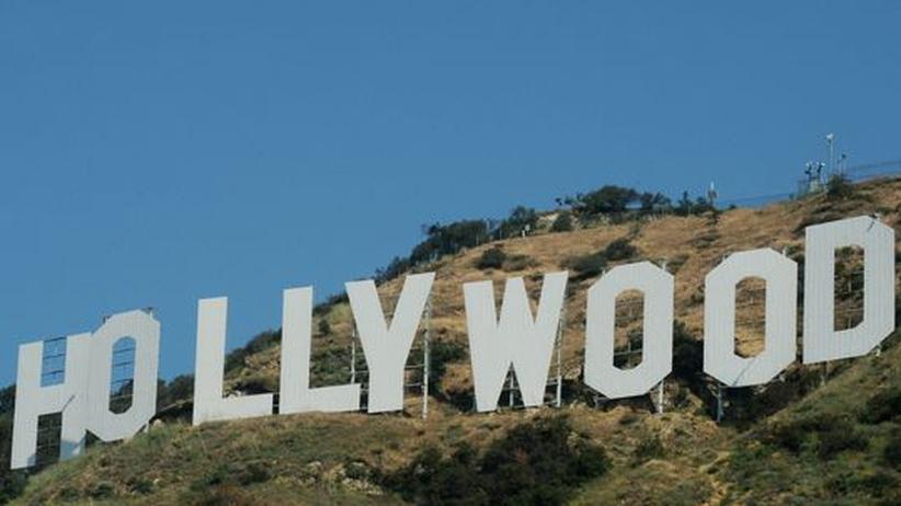 Hollywood-Symbol: Die berühmteste Buchstabenarchitektur der Welt. Das Hollywood-Wahrzeichen in Los Angeles